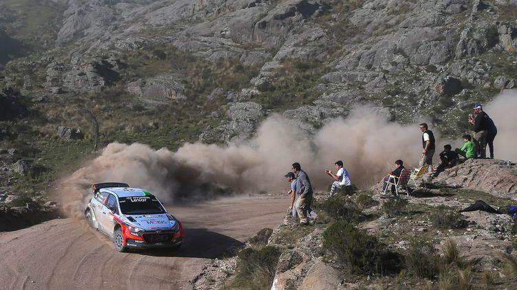 Hayden Paddon, la révélation du Rallye d'Argentine (DIEGO LIMA / AFP)