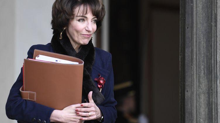 Marisol Touraine, ministre de la Santé de 2012 à 2017, sous la présidence de François Hollande. (STEPHANE DE SAKUTIN / AFP)