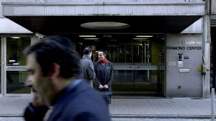 Quartier des diamantaires, à Anvers, en Belgique (2003). (Wim Hendrix. AFP)