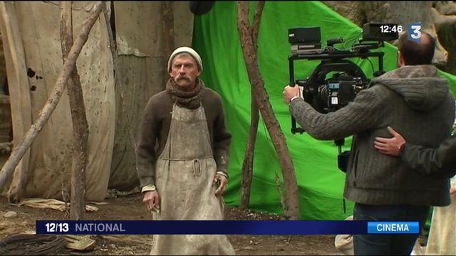 """Drôme : sur le tournage de """"Facteur Cheval"""""""
