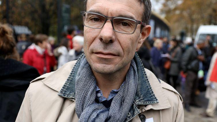 Stéphane Crochet, le 12 novembre 2018, à Paris. (YANN FOREIX / MAXPPP)