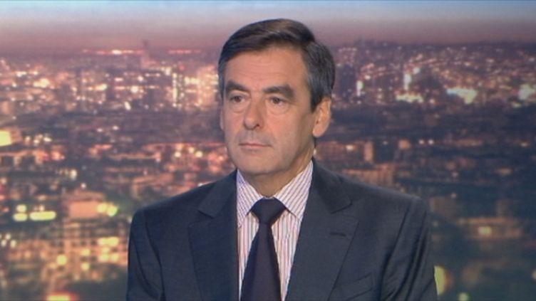 François Fillon au 20h de France 2 (17 octobre 2011) (France 2)
