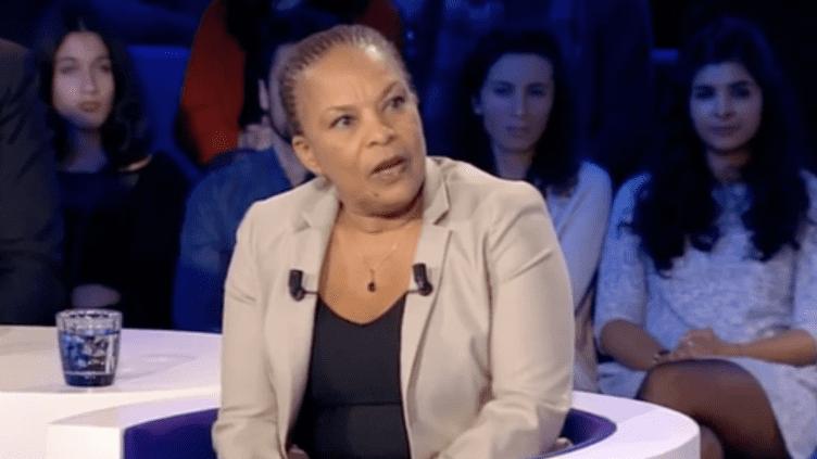 """Christiane Taubira invitée d'""""On n'est pas couché"""", le 6 février. (FRANCETV INFO)"""