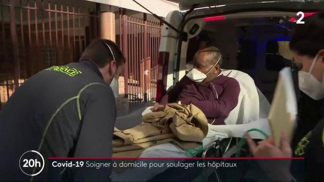 Covid-19 : l'hospitalisation à domicile pour soulager les hôpitaux