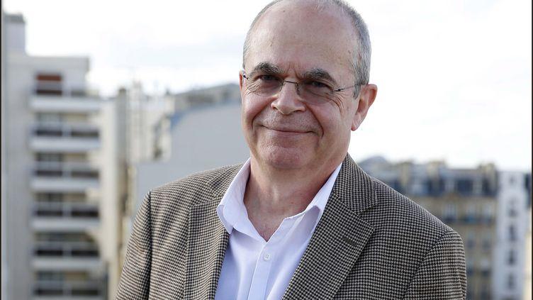 Le président duSyndicat national des gynécologues-obstétriciens de France,Bertrand de Rochambeau, le 11 février 2016 à Paris. (MAXPPP)