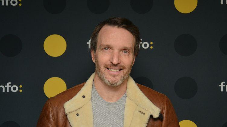 """Stéphane Rotenberg, présentateur de """"Top Chef"""" sur M6 . (JEAN-CHRISTOPHE BOURDILLAT / RADIO FRANCE)"""