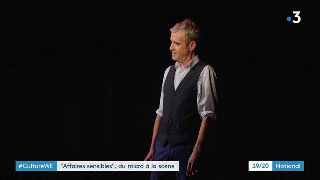 """Théâtre : de la radio à la scène, """"Affaire Sensibles"""" monte sur les planches"""