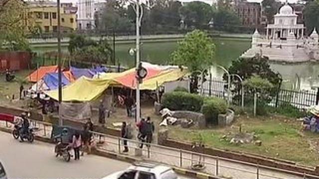 Le Népal attend toujours un soutien international