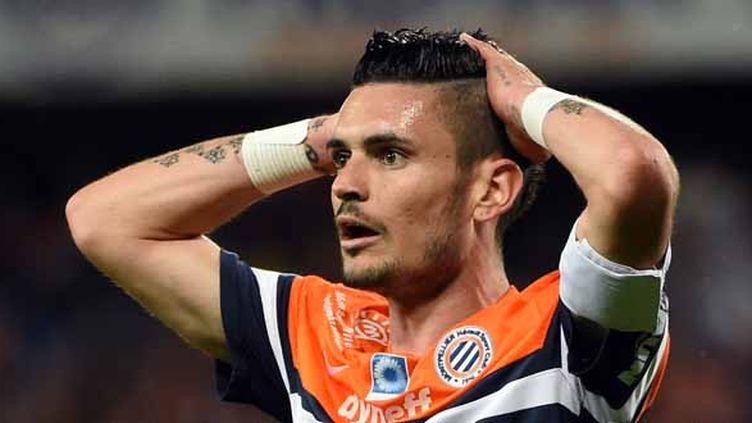 Remy Cabella - milieu - 24 ans - club : Montpellier (PASCAL GUYOT / AFP)