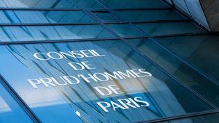 La façade du conseil des prod'hommes de Paris, à Paris, le 8 avril 2015. (YANN KORBI / CITIZENSIDE / AFP)