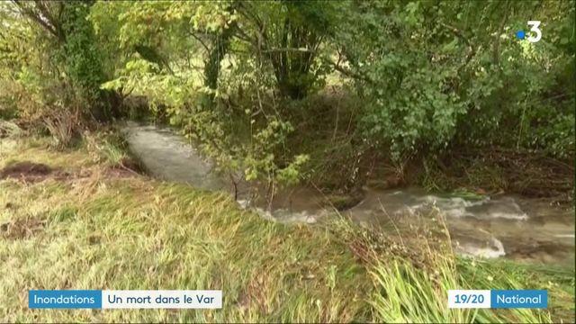 Inondations : un mort dans le Var