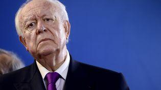 Jean-Claude Gaudin, le 8 février 2013 à Marseille (Bouches-du-Rhône). (ANNE-CHRISTINE POUJOULAT / AFP)