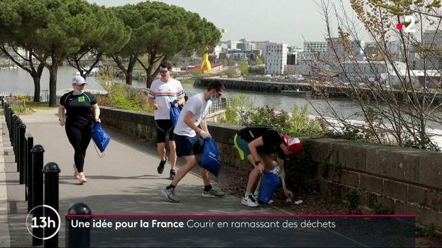 Environnement : les adeptes du plogging font leur jogging tout en ramassant des déchets