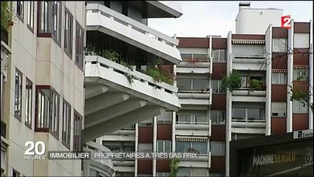 Immobilier : propriétaires à très bas prix