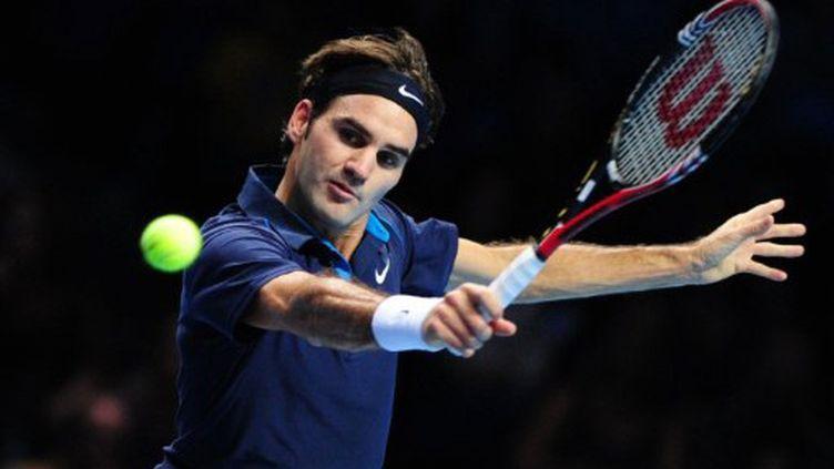 Roger Federer n'a pas trainé contre Janko Tipsarevic