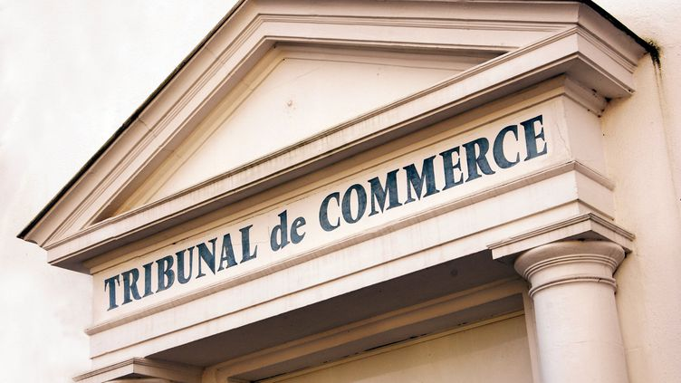 Le tribunal de commerce de Vannes (Morbihan). Photo d'illustration. (MAXPPP)