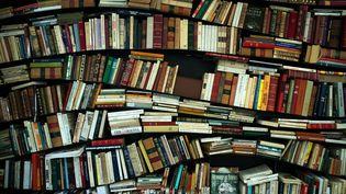 Des livres présentés de manière originale à Manosque, durant le festival Les Correspondances (25 septembre 2019) (JOEL SAGET / AFP)