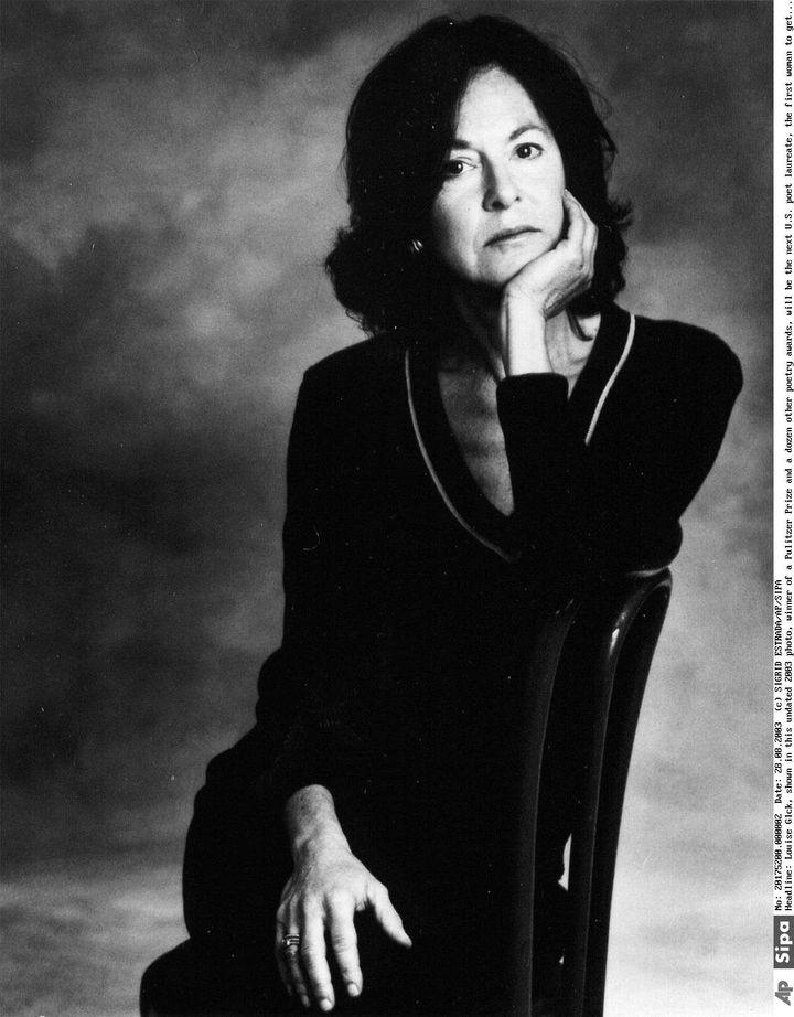 La poétesse Louise Glück en 2003 (SIGRID ESTRADA/AP/SIPA / LIBRARY OF CONGRESS)