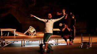 """""""La Fiesta"""", d'Israel Galvan, au festival d'Avignon jusqu'au 23 juillet. (MAXPPP)"""