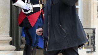L'ancien ministre Jacques Toubon, le 18 mars 2014, à l'Elysée, à Paris. (JACQUES DEMARTHON / AFP)