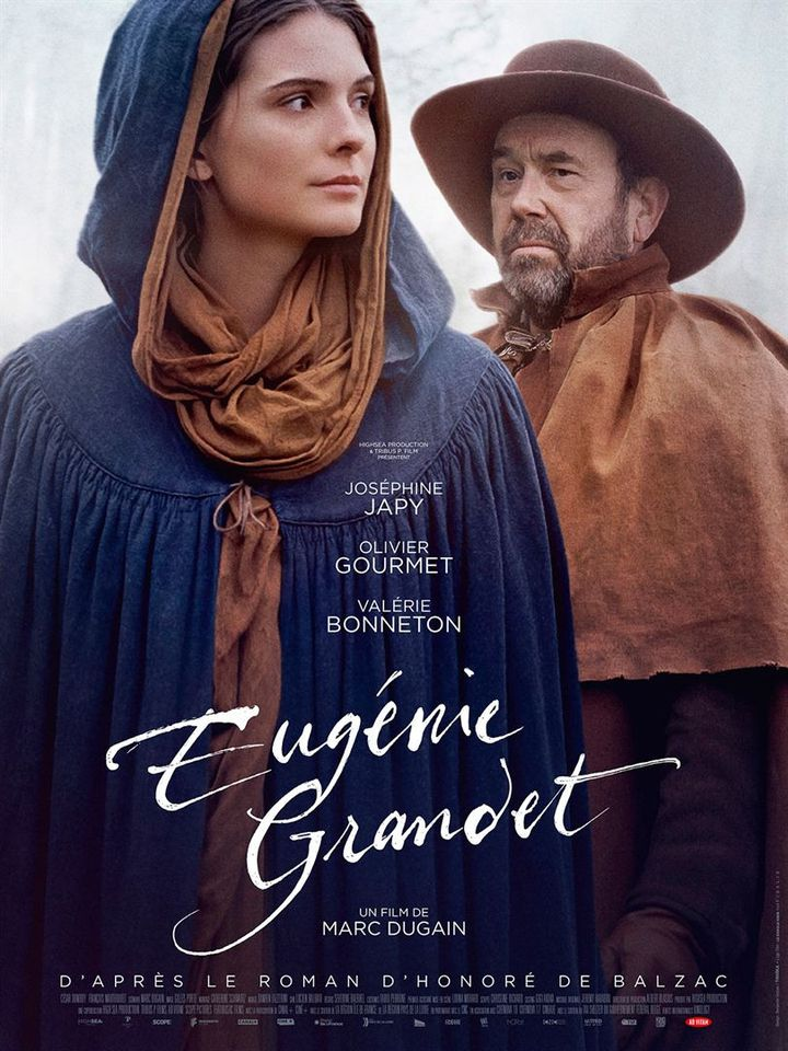 """Poster of """"Eugenie Grandet"""" by Marc Dugain (2021).  (AD VITAM)"""