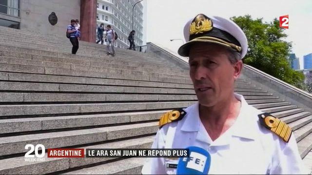 Argentine : un sous-marin ne donne plus de nouvelles