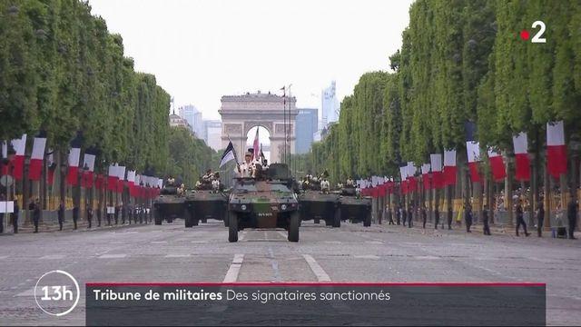 Tribune de militaires : de lourdes sanctions pourrait attendre certains signataires
