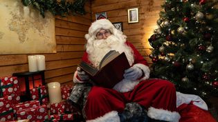 Le Père Noël. Photo d'illustration. (NIKLAS HALLE'N / AFP)