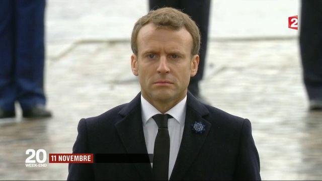 Armistice du 11 novembre : première commémoration pour Emmanuel Macron
