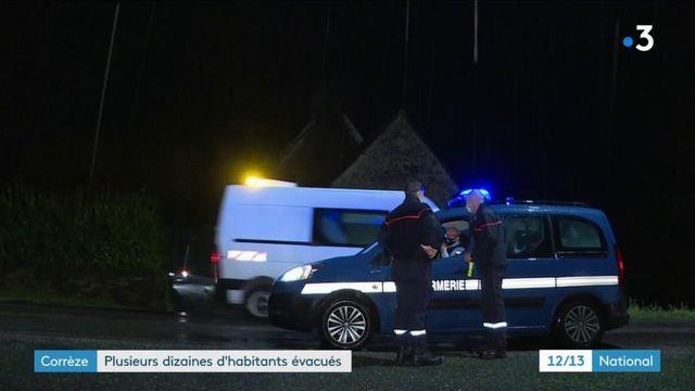 Inondations : plusieurs dizaines d'évacuations en Corrèze