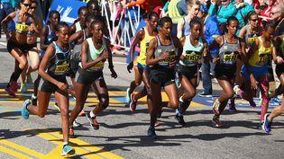Le plus vieux marathon au mondeest revenu lundi 11 octobre lundi après une interruption de deux ans et demi en raison de la pandémie. (TIM BRADBURY / GETTY IMAGES NORTH AMERICA)
