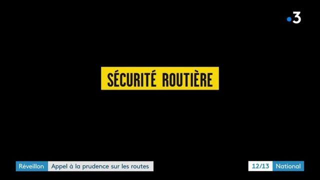 Réveillon du 31 décembre : contrôles renforcés sur les routes