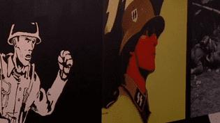 La seconde guerre mondiale au coeur du Lyon BD Festival, à travers une expo au Centre d'Histoire de la Résistance et de la Déportation.  (France 3)
