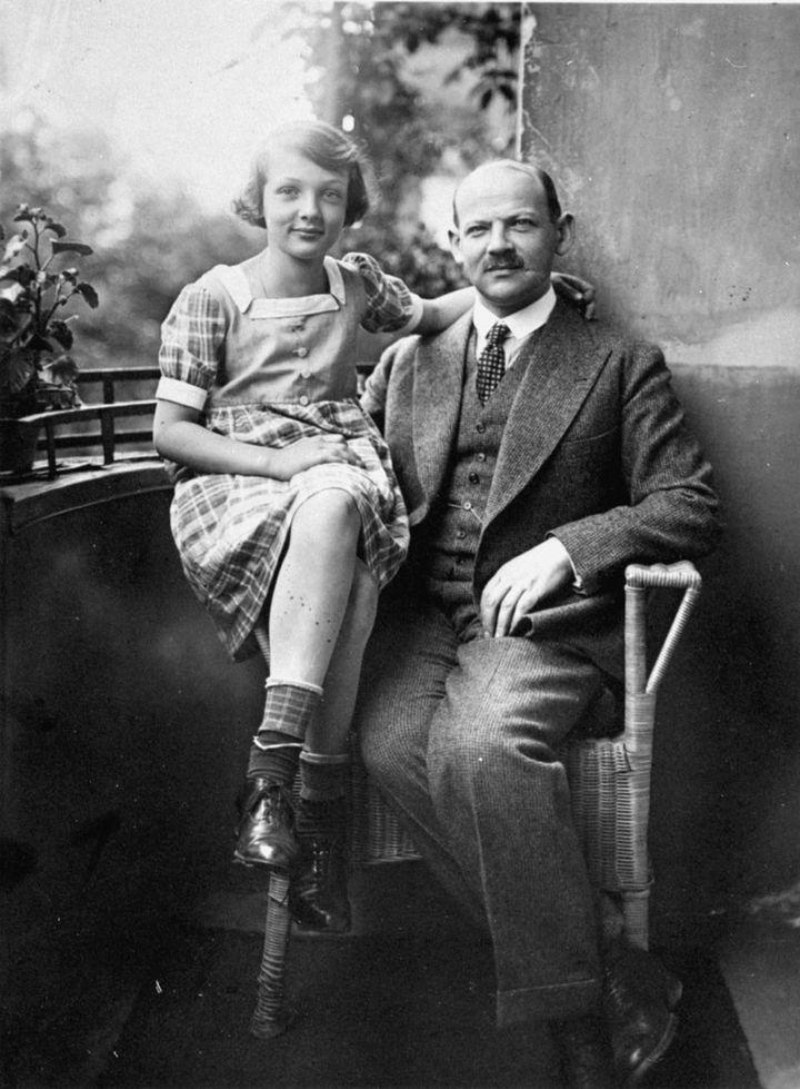 Charlotte Salomon et son père Albert