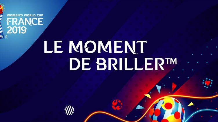 Le slogan du Mondial féminin de 2019 en France