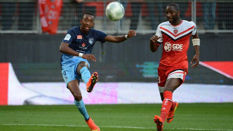 Moussa Sao (Le Havre) face à Valenciennes (EMMANUEL LELAIDIER / MAXPPP)