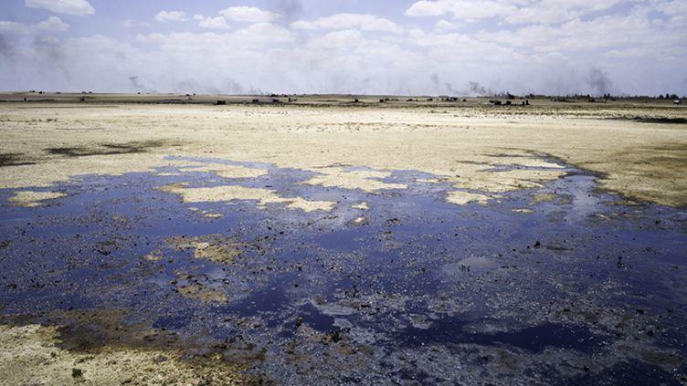 (Les terroristes de Daech contrôleraient  80 % de la production de l'or noir en Syrie. Photo d'illutsration © Maxppp)
