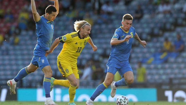 L'issue du match entre l'Ukraine et la Russie se jouera en prolongation. (ROBERT PERRY / POOL)