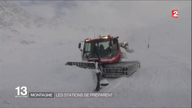 Montagne : les stations se préparent