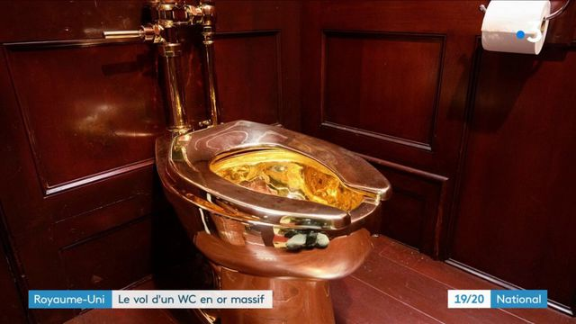 Royaume-Uni : le WC en or de Maurizio Cattelan volé dans un palais