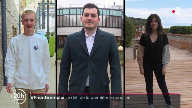 #Priorité emploi : trois jeunes à la recherche d'un premier emploi