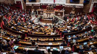 L'hémicycle de l'Assemblée nationale le 5 juin 2018 (illustration). (MAXPPP)