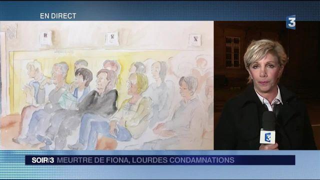 Procès Fiona : Cécile Bourgeon, la mère de l'enfant, condamnée à 5 ans de prison, le beau-père à 20 ans