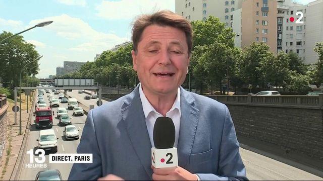Paris : des véhicules interdits de circulation