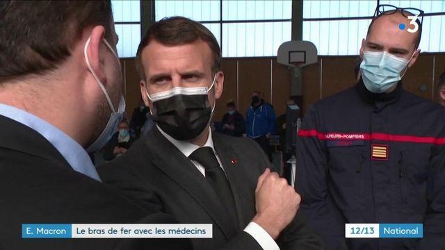 Covid-19 : bras de fer entre Emmanuel Macron et les médecins