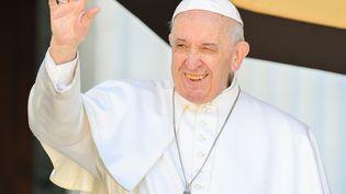 Le pape François à Lorette (Italie), le 25 mars 2019. (TIZIANA FABI / AFP)