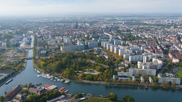 La ville de Strasbourg (Bas-Rhin). (THIERRY GRUN / ONLY FRANCE)