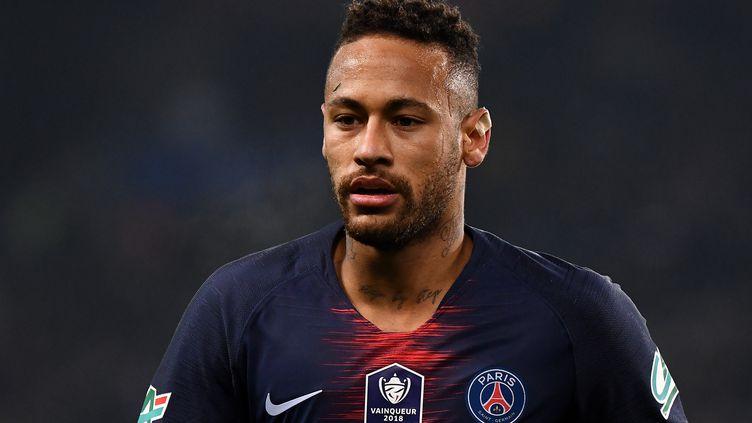 Neymar lors du match de Coupe de France opposant le PSG à Strasbourg, au Parc des Princes (Paris), le 23 janvier 2019. (FRANCK FIFE / AFP)