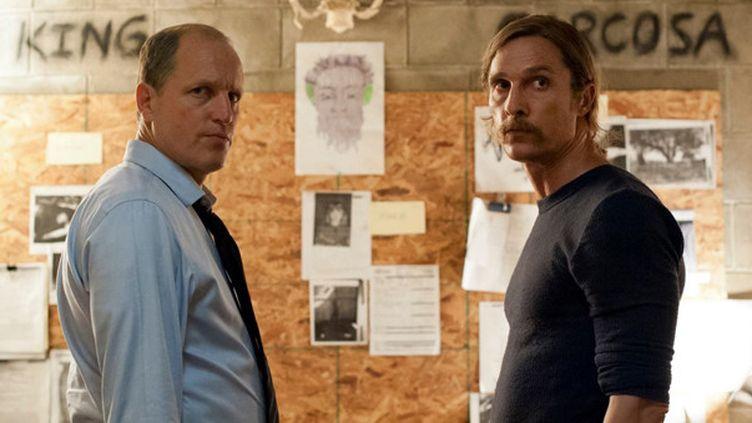 """Matthew McConaughey et Woody Harrelson dans """"True Detective""""  (HBO)"""