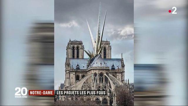 Notre-Dame : les architectes débordent d'imagination pour sa reconstruction